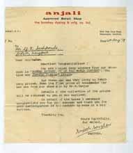 Bombay Dyeing 1978, Testimonials - G. K. Deshpande