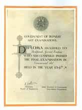 Gov of Bom 1947, Testimonials - G. K. Deshpande