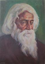 Tagore, painting by H.C. Rai