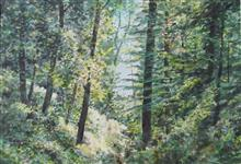 Foundation of my existence, painting by H.C. Rai