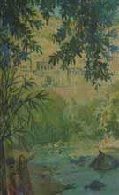 Painting by J D Gondhalekar