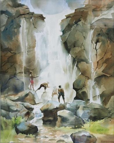 John Fernandes John Figurative Paintings Oil On Canvas