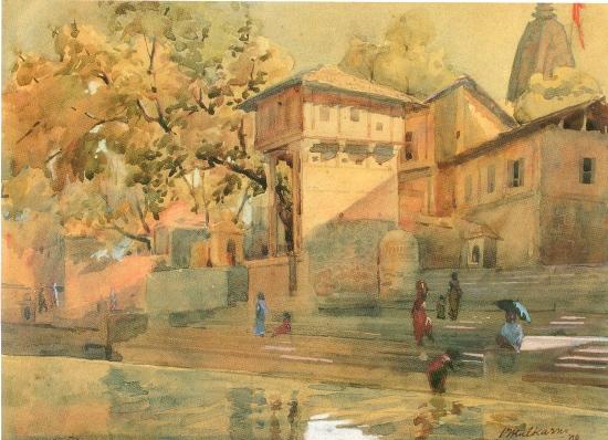 painting by Vasudeo Kulkarni