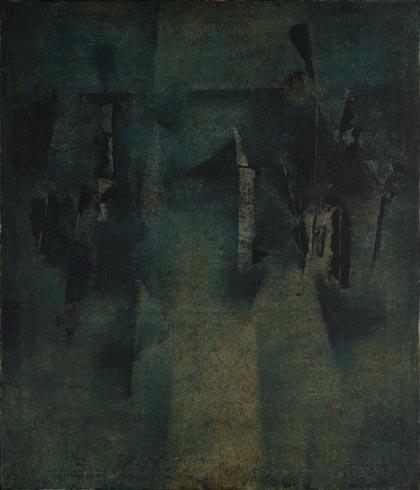 painting by Vasudev Gaitonde