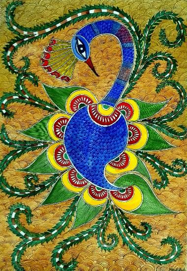The Krishna, Painting by Nehal Shah