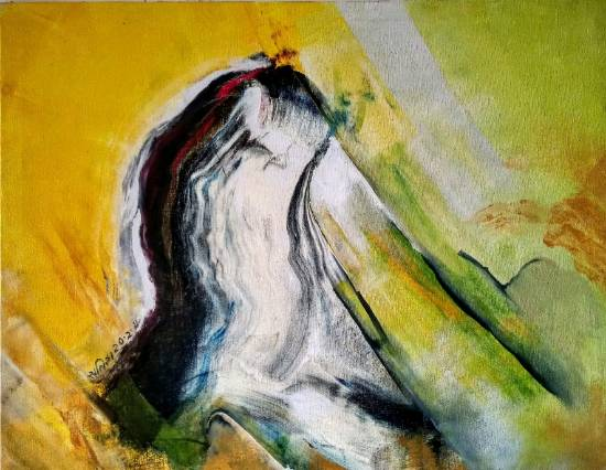 Force, painting by Satish Pimple