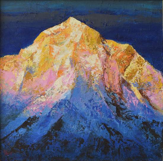 Himalaya collection - 21, Painting by Artist Kishor Randiwe