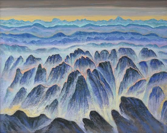 Himalaya collection - 10, Painting by Artist Kishor Randiwe