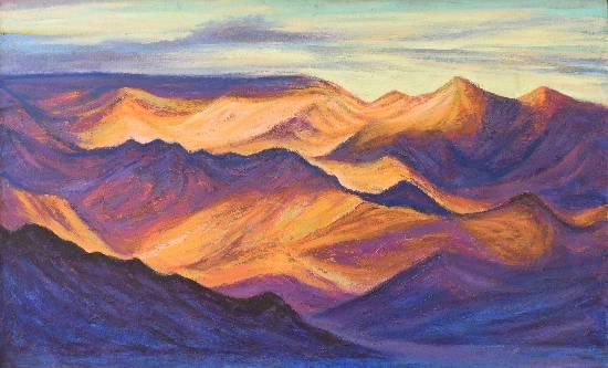 Himalaya collection - 15, Painting by Artist Kishor Randiwe
