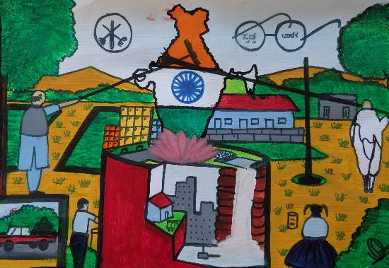 Swachh Bharat theme