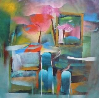 Sweet Story, Painting by Artist Bhawana Choudhary