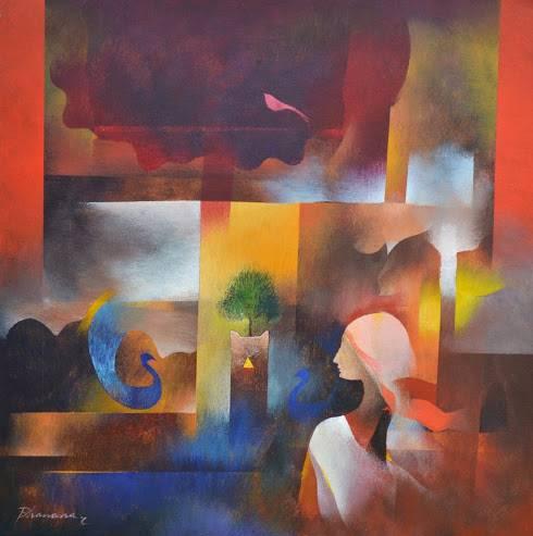 Tulsi, Painting by Artist Bhawana Choudhary