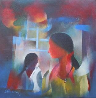 Untitled V, Painting by Artist Bhawana Choudhary