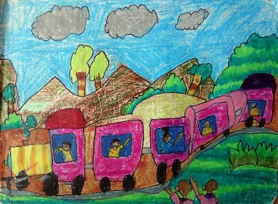 Memorable Train Journey theme